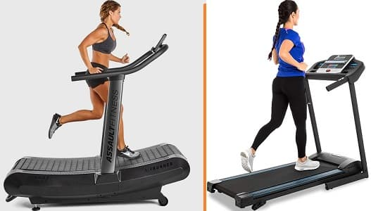 Treadmill Vs. Air Runner